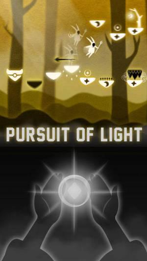 iPhone、iPadアプリ「光追う者」のスクリーンショット 1枚目