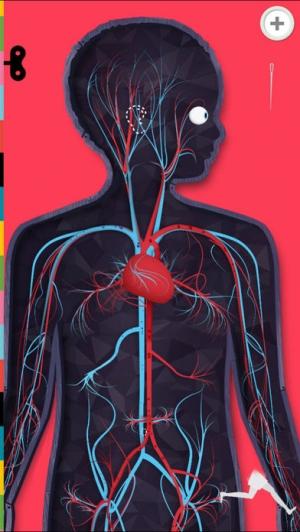 iPhone、iPadアプリ「The Human Body Lite ~ あそんでまなぼう」のスクリーンショット 1枚目