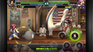 iPhone、iPadアプリ「THE KING OF FIGHTERS-i 2012(F)」のスクリーンショット 3枚目