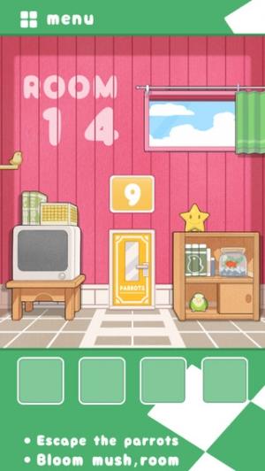iPhone、iPadアプリ「脱出ゲーム インコ脱出」のスクリーンショット 3枚目