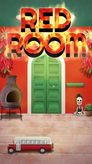 iPhone、iPadアプリ「脱出ゲーム REDROOM」のスクリーンショット 1枚目