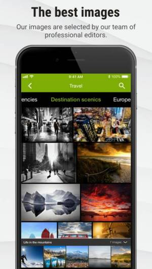 iPhone、iPadアプリ「Stock Photos by Dreamstime」のスクリーンショット 2枚目