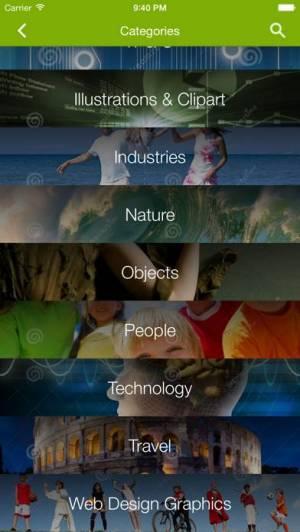 iPhone、iPadアプリ「Stock Photos by Dreamstime」のスクリーンショット 3枚目