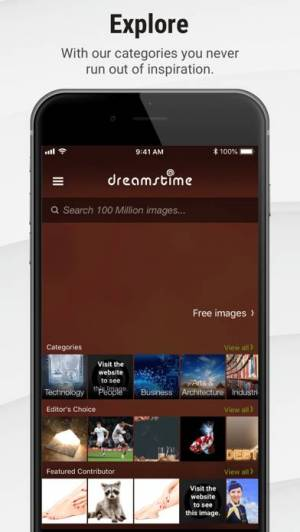 iPhone、iPadアプリ「Stock Photos by Dreamstime」のスクリーンショット 3枚目