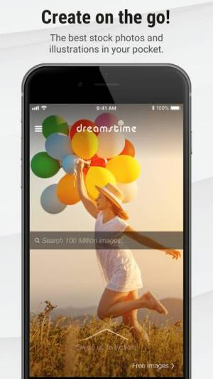 iPhone、iPadアプリ「Stock Photos by Dreamstime」のスクリーンショット 1枚目