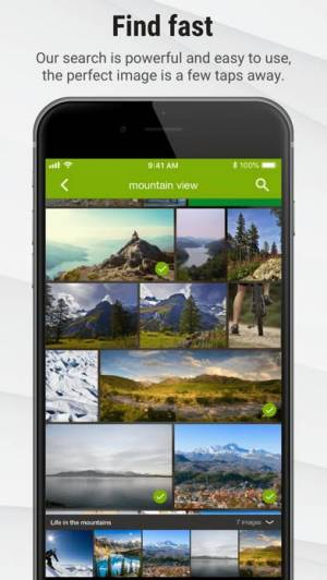 iPhone、iPadアプリ「Stock Photos by Dreamstime」のスクリーンショット 4枚目