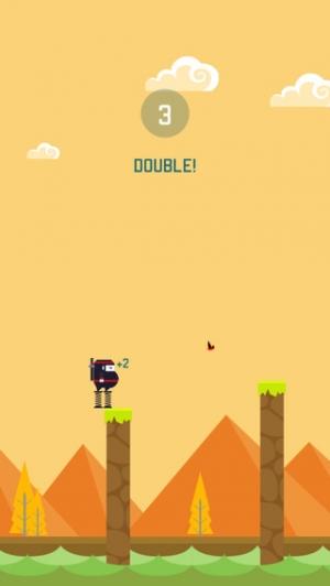 iPhone、iPadアプリ「Spring Ninja」のスクリーンショット 3枚目