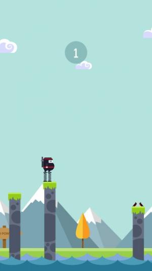 iPhone、iPadアプリ「Spring Ninja」のスクリーンショット 5枚目