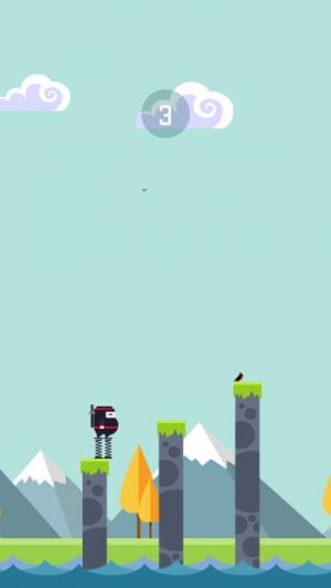 iPhone、iPadアプリ「Spring Ninja」のスクリーンショット 4枚目