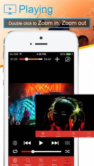iPhone、iPadアプリ「MyTube - Stream and Play」のスクリーンショット 3枚目