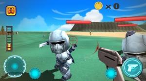 iPhone、iPadアプリ「UNITY HEROES 無料で遊べるFPS」のスクリーンショット 1枚目
