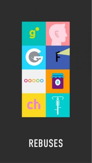 iPhone、iPadアプリ「REBUS - Absurd Logic Game」のスクリーンショット 1枚目