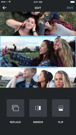 iPhone、iPadアプリ「Layout from Instagram」のスクリーンショット 3枚目