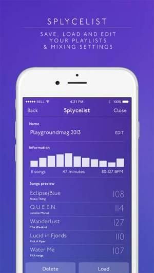 iPhone、iPadアプリ「Splyce Premium DJ mixer」のスクリーンショット 4枚目
