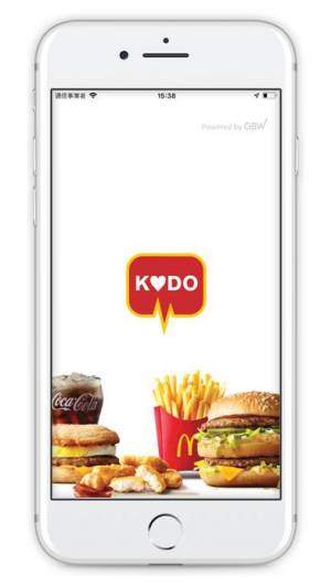 iPhone、iPadアプリ「McDonald's KODO」のスクリーンショット 1枚目