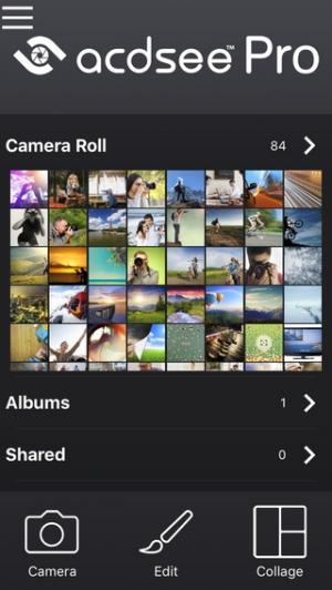 iPhone、iPadアプリ「ACDSee Pro」のスクリーンショット 1枚目