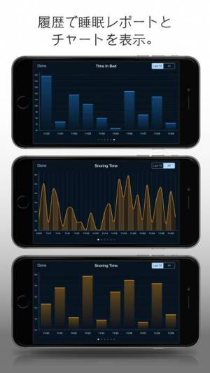 iPhone、iPadアプリ「Prime Sleep Recorder Pro」のスクリーンショット 5枚目