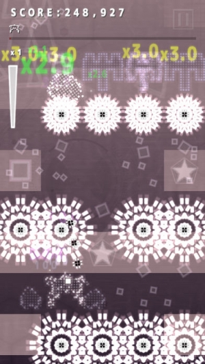 iPhone、iPadアプリ「.Decluster - ドット デクラスタ - Into the Bullet Hell」のスクリーンショット 4枚目