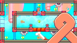 iPhone、iPadアプリ「Silly Sausage in Meat Land」のスクリーンショット 3枚目
