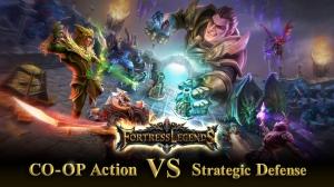 iPhone、iPadアプリ「Fortress Legends」のスクリーンショット 1枚目