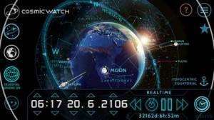 iPhone、iPadアプリ「Cosmic-Watch」のスクリーンショット 3枚目