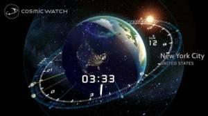 iPhone、iPadアプリ「Cosmic-Watch」のスクリーンショット 1枚目