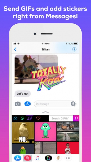 iPhone、iPadアプリ「GIPHY: The GIF Search Engine」のスクリーンショット 5枚目