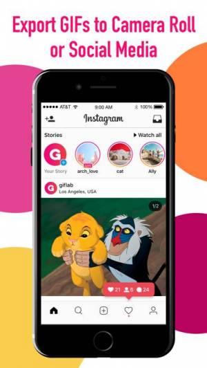 iPhone、iPadアプリ「GifLab - GIF Maker & Editor」のスクリーンショット 3枚目