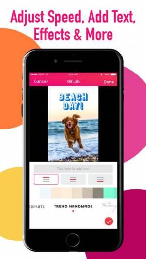 iPhone、iPadアプリ「GifLab - GIF Maker & Editor」のスクリーンショット 2枚目