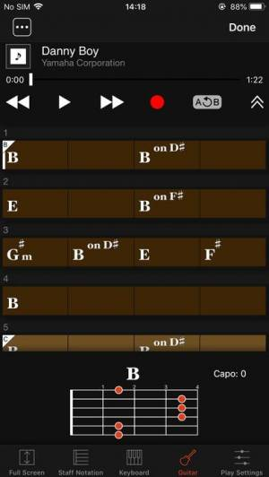 iPhone、iPadアプリ「Chord Tracker」のスクリーンショット 3枚目