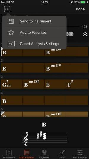 iPhone、iPadアプリ「Chord Tracker」のスクリーンショット 5枚目