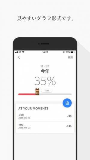 iPhone、iPadアプリ「AT(アット) 見えるカウントダウン」のスクリーンショット 3枚目