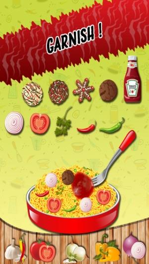 iPhone、iPadアプリ「麺メーカー - クレイジーシェフキッチン冒険とスパイシー料理ゲーム」のスクリーンショット 3枚目