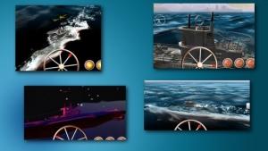 iPhone、iPadアプリ「ソナーエコー - 潜水艦海戦アクションゲーム」のスクリーンショット 4枚目