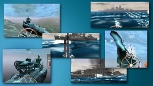 iPhone、iPadアプリ「ソナーエコー - 潜水艦海戦アクションゲーム」のスクリーンショット 2枚目