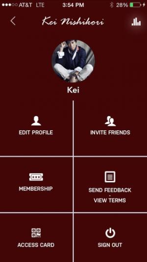 iPhone、iPadアプリ「Kei Nishikori Official APP」のスクリーンショット 4枚目