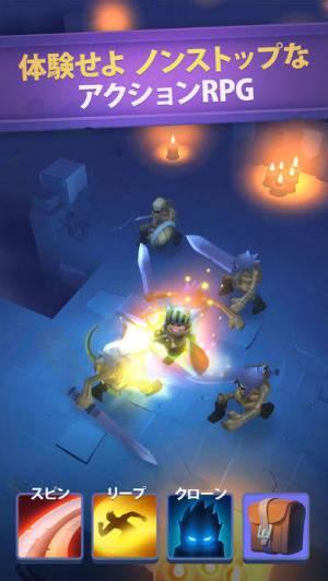 iPhone、iPadアプリ「Nonstop Knight - Idle RPG」のスクリーンショット 1枚目