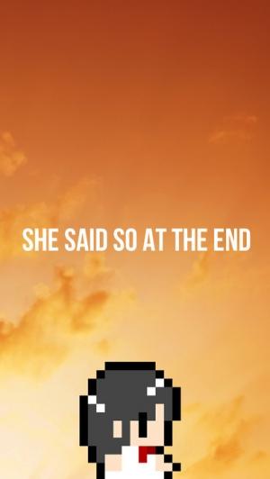 iPhone、iPadアプリ「彼女は最後にそう言った」のスクリーンショット 1枚目