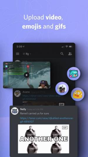 iPhone、iPadアプリ「Discord」のスクリーンショット 3枚目