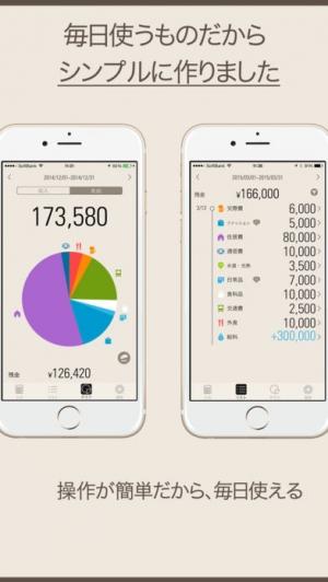 iPhone、iPadアプリ「ノコリイクラLite〜手持ち残高が一目でわかるおこづかい帳〜」のスクリーンショット 4枚目