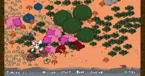 iPhone、iPadアプリ「僕は森世界の神となる」のスクリーンショット 1枚目