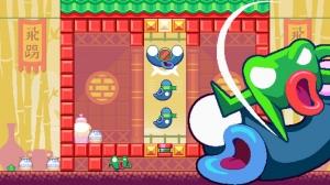 iPhone、iPadアプリ「Green Ninja: Year of the Frog」のスクリーンショット 3枚目