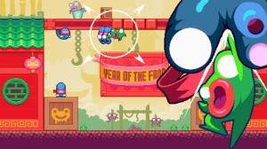 iPhone、iPadアプリ「Green Ninja: Year of the Frog」のスクリーンショット 1枚目
