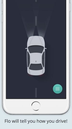iPhone、iPadアプリ「Flo -運転洞察力」のスクリーンショット 1枚目