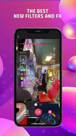 iPhone、iPadアプリ「Triller フィルムメーカー」のスクリーンショット 3枚目
