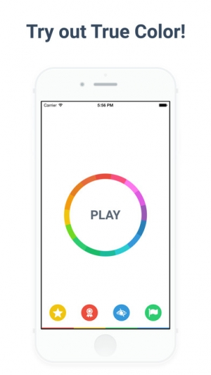 iPhone、iPadアプリ「True Color - Stay focused on what you read!」のスクリーンショット 1枚目