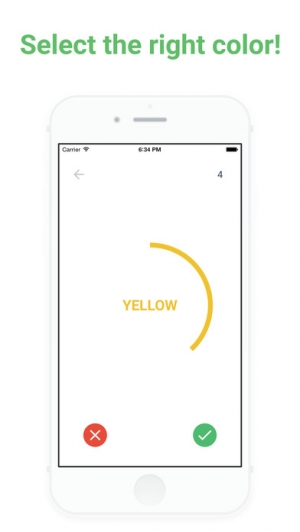 iPhone、iPadアプリ「True Color - Stay focused on what you read!」のスクリーンショット 2枚目