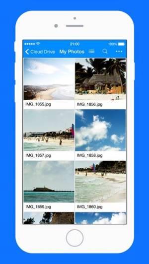 iPhone、iPadアプリ「Amazon Drive」のスクリーンショット 2枚目