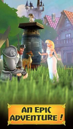 iPhone、iPadアプリ「Legendary Knight Run」のスクリーンショット 2枚目