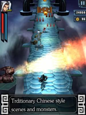 iPhone、iPadアプリ「Blade Journey HD-Kungfu Run」のスクリーンショット 1枚目